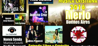 El Día Internacional de la Música Cristiana 7 del 7 2016 Tambien se celebra en la Ciudad de Merlo (Buenos Aires) Argentina