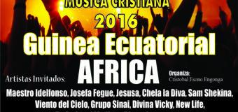 El Día Internacional de la Música Cristiana 7 del 7 2016 También se celebra en Guinea Ecuatorial África